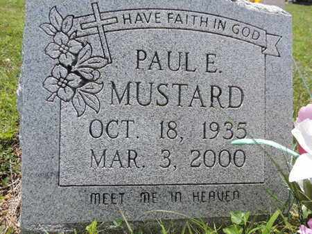 MUSTARD, PAUL E. - Pike County, Ohio | PAUL E. MUSTARD - Ohio Gravestone Photos