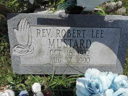 MUSTARD, ROBERT LEE - Pike County, Ohio | ROBERT LEE MUSTARD - Ohio Gravestone Photos