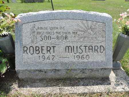 MUSTARD, ROBERT - Pike County, Ohio | ROBERT MUSTARD - Ohio Gravestone Photos
