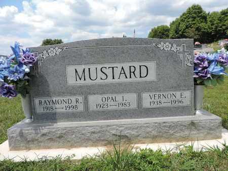 MUSTARD, RAYMOND R. - Pike County, Ohio | RAYMOND R. MUSTARD - Ohio Gravestone Photos