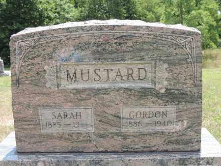 MUSTARD, GORDON - Pike County, Ohio | GORDON MUSTARD - Ohio Gravestone Photos