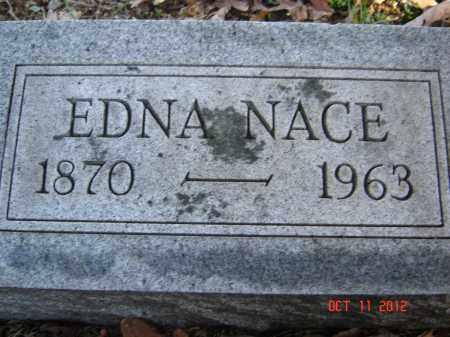 NACE, EDNA - Pike County, Ohio | EDNA NACE - Ohio Gravestone Photos