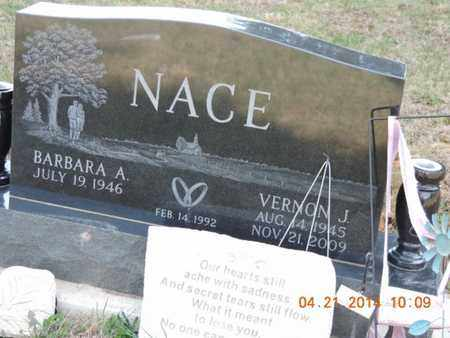NACE, BARBARA A - Pike County, Ohio | BARBARA A NACE - Ohio Gravestone Photos