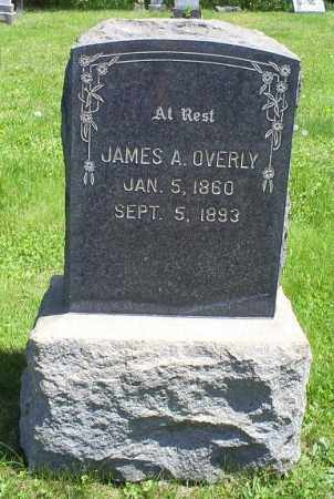 OVERLY, JAMES A. - Pike County, Ohio | JAMES A. OVERLY - Ohio Gravestone Photos