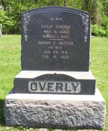 OVERLY, SARAH C. - Pike County, Ohio | SARAH C. OVERLY - Ohio Gravestone Photos