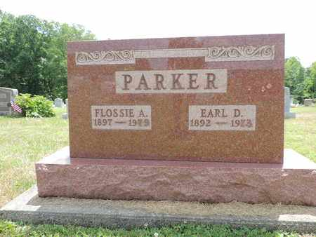 PARKER, FLOSSIE A. - Pike County, Ohio | FLOSSIE A. PARKER - Ohio Gravestone Photos