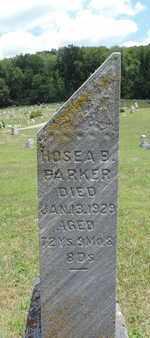PARKER, HOSEA B - Pike County, Ohio | HOSEA B PARKER - Ohio Gravestone Photos
