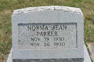 PARKER, NORMA JEAN - Pike County, Ohio | NORMA JEAN PARKER - Ohio Gravestone Photos