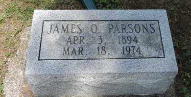 PARSONS, JAMES  O. - Pike County, Ohio | JAMES  O. PARSONS - Ohio Gravestone Photos