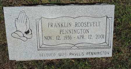 PENNINGTON, FRANKLIN ROOSEVELT - Pike County, Ohio | FRANKLIN ROOSEVELT PENNINGTON - Ohio Gravestone Photos