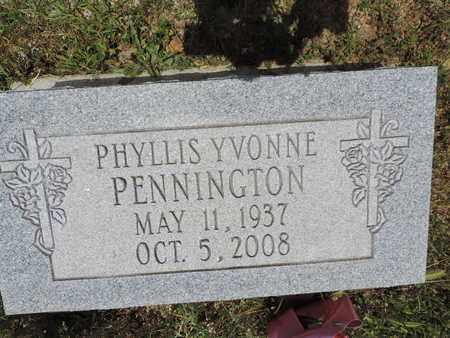 PENNINGTON, PHYLLIS YVONNE - Pike County, Ohio | PHYLLIS YVONNE PENNINGTON - Ohio Gravestone Photos