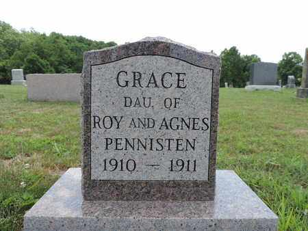 PENNISTEN, GRACE - Pike County, Ohio | GRACE PENNISTEN - Ohio Gravestone Photos