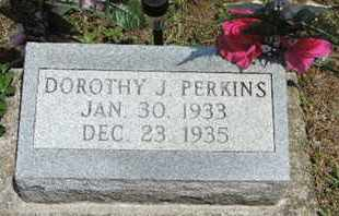 PERKINS, DOROTHY J. - Pike County, Ohio | DOROTHY J. PERKINS - Ohio Gravestone Photos