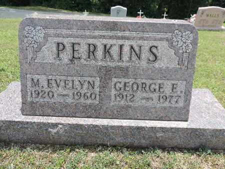 PERKINS, GEORGE E. - Pike County, Ohio | GEORGE E. PERKINS - Ohio Gravestone Photos