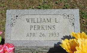 PERKINS, WILLIAM L. - Pike County, Ohio | WILLIAM L. PERKINS - Ohio Gravestone Photos