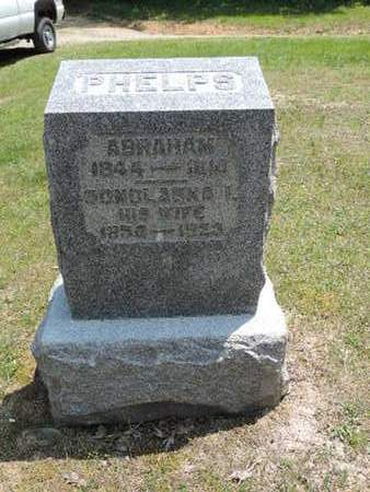 PHELPS, ABRAHAM - Pike County, Ohio | ABRAHAM PHELPS - Ohio Gravestone Photos