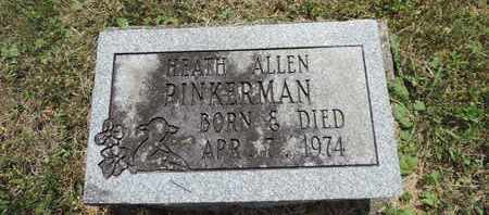 PINKERMAN, HEATH ALLEN - Pike County, Ohio | HEATH ALLEN PINKERMAN - Ohio Gravestone Photos