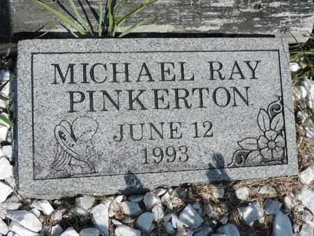 PINKERTON, MICHAEL RAY - Pike County, Ohio | MICHAEL RAY PINKERTON - Ohio Gravestone Photos