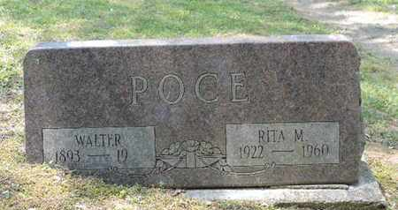 POCE, WALTER - Pike County, Ohio | WALTER POCE - Ohio Gravestone Photos