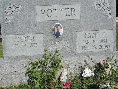 POTTER, HAZEL I. - Pike County, Ohio | HAZEL I. POTTER - Ohio Gravestone Photos
