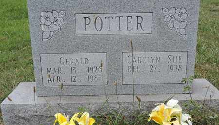 POTTER, CAROLYN SUE - Pike County, Ohio | CAROLYN SUE POTTER - Ohio Gravestone Photos