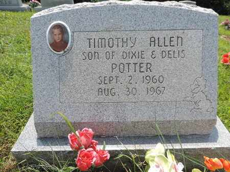 POTTER, TIMOTHY ALLEN - Pike County, Ohio | TIMOTHY ALLEN POTTER - Ohio Gravestone Photos