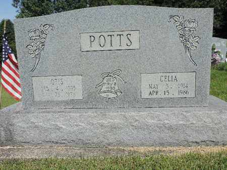 POTTS, CELIA - Pike County, Ohio | CELIA POTTS - Ohio Gravestone Photos