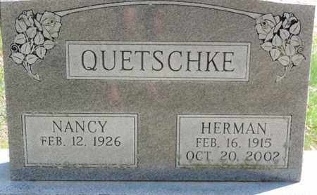 QUETSCHKE, NANCY - Pike County, Ohio | NANCY QUETSCHKE - Ohio Gravestone Photos