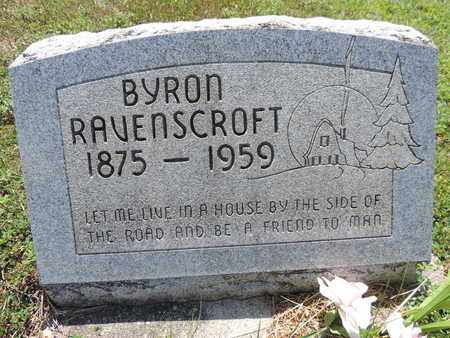 RAVENSCROFT, BYRON - Pike County, Ohio | BYRON RAVENSCROFT - Ohio Gravestone Photos