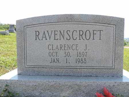 RAVENSCROFT, CLARENCE J. - Pike County, Ohio | CLARENCE J. RAVENSCROFT - Ohio Gravestone Photos