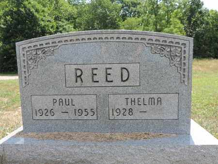 REED, THELMA - Pike County, Ohio | THELMA REED - Ohio Gravestone Photos