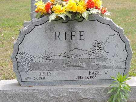 RIFE, HAZEL W. - Pike County, Ohio | HAZEL W. RIFE - Ohio Gravestone Photos