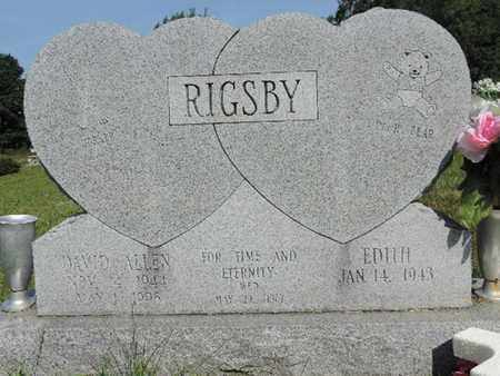 RIGSBY, EDITH - Pike County, Ohio | EDITH RIGSBY - Ohio Gravestone Photos