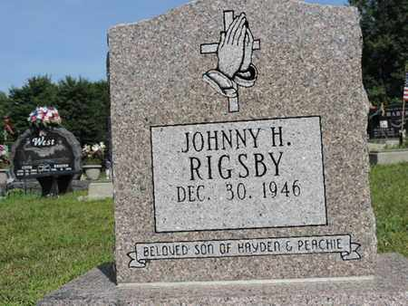 RIGSBY, JOHNNY H. - Pike County, Ohio | JOHNNY H. RIGSBY - Ohio Gravestone Photos