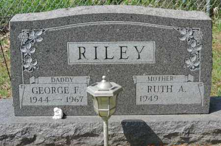 RILEY, RUTH A. - Pike County, Ohio | RUTH A. RILEY - Ohio Gravestone Photos