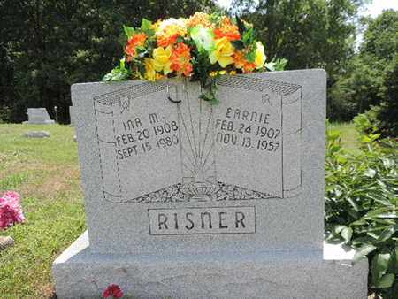 RISNER, EARNIE - Pike County, Ohio | EARNIE RISNER - Ohio Gravestone Photos