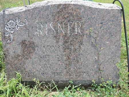 RISNER, WARNIE LEE - Pike County, Ohio | WARNIE LEE RISNER - Ohio Gravestone Photos
