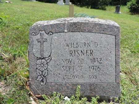 RISNER, WILBURN D. - Pike County, Ohio | WILBURN D. RISNER - Ohio Gravestone Photos
