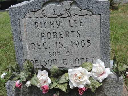 ROBERTS, RICKY LEE - Pike County, Ohio   RICKY LEE ROBERTS - Ohio Gravestone Photos