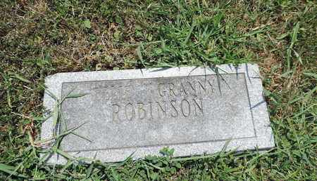 ROBINSON, ELLIE - Pike County, Ohio | ELLIE ROBINSON - Ohio Gravestone Photos