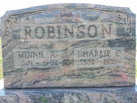ROBINSON, CHARLIE E. - Pike County, Ohio | CHARLIE E. ROBINSON - Ohio Gravestone Photos