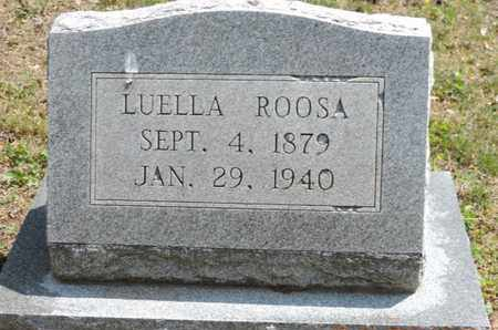 ROOSA, LUELLA - Pike County, Ohio | LUELLA ROOSA - Ohio Gravestone Photos