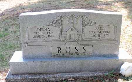 ROSS, PAUL - Pike County, Ohio | PAUL ROSS - Ohio Gravestone Photos