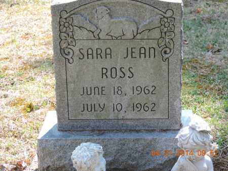 ROSS, SARA JEAN - Pike County, Ohio | SARA JEAN ROSS - Ohio Gravestone Photos