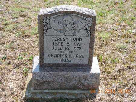 ROSS, TERESA - Pike County, Ohio | TERESA ROSS - Ohio Gravestone Photos