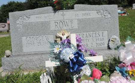 ROWE, FRANCES E. - Pike County, Ohio | FRANCES E. ROWE - Ohio Gravestone Photos