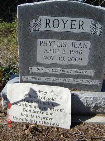 ROYER, PHYLLIS JEAN - Pike County, Ohio | PHYLLIS JEAN ROYER - Ohio Gravestone Photos