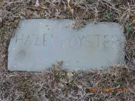 ROYSTER, HAZEL - Pike County, Ohio | HAZEL ROYSTER - Ohio Gravestone Photos