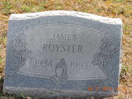 ROYSTER, JAMES - Pike County, Ohio | JAMES ROYSTER - Ohio Gravestone Photos