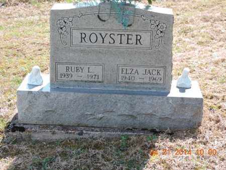 ROYSTER, ELZA JACK - Pike County, Ohio | ELZA JACK ROYSTER - Ohio Gravestone Photos